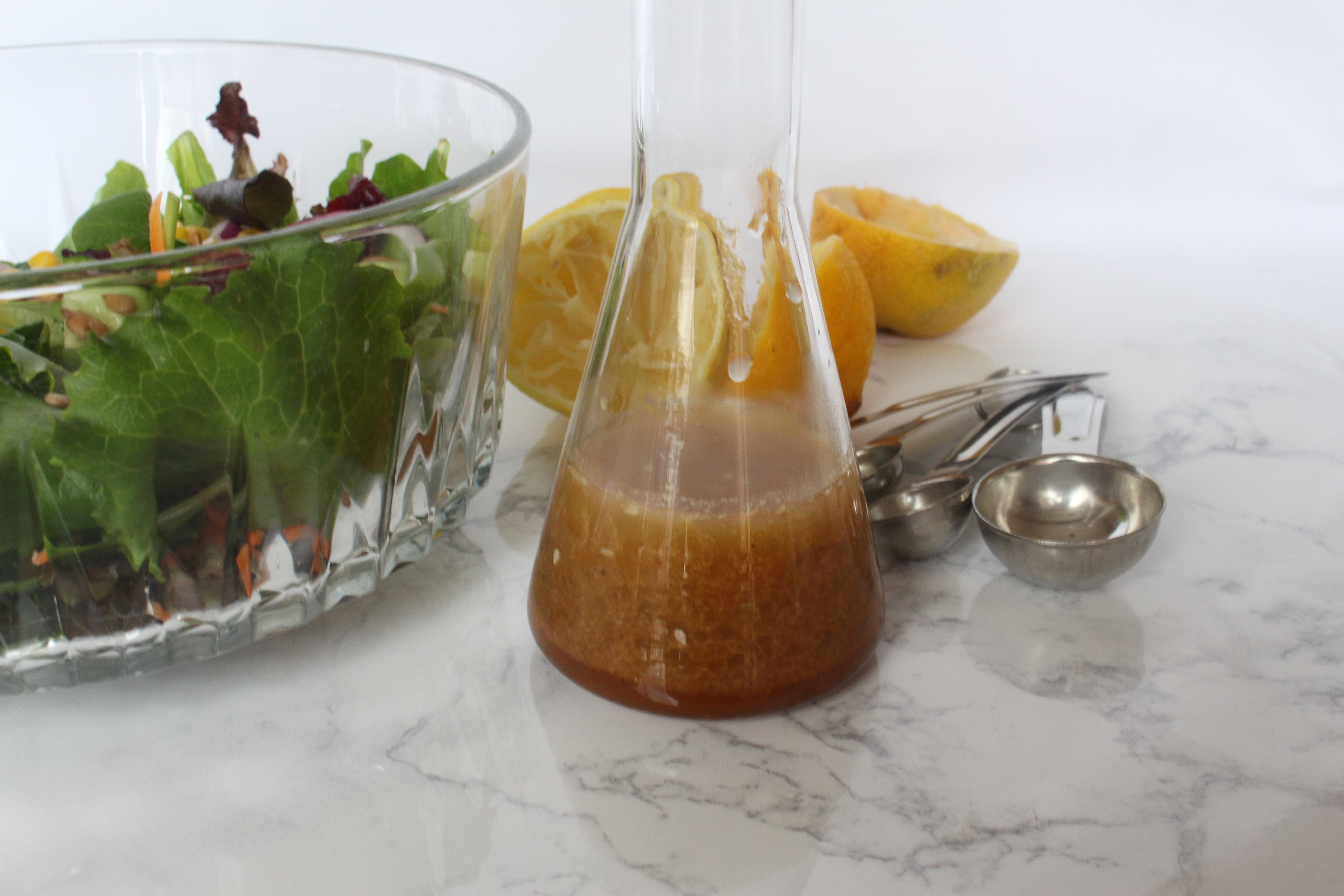 Yummy Asian Ginger Salad Dressing