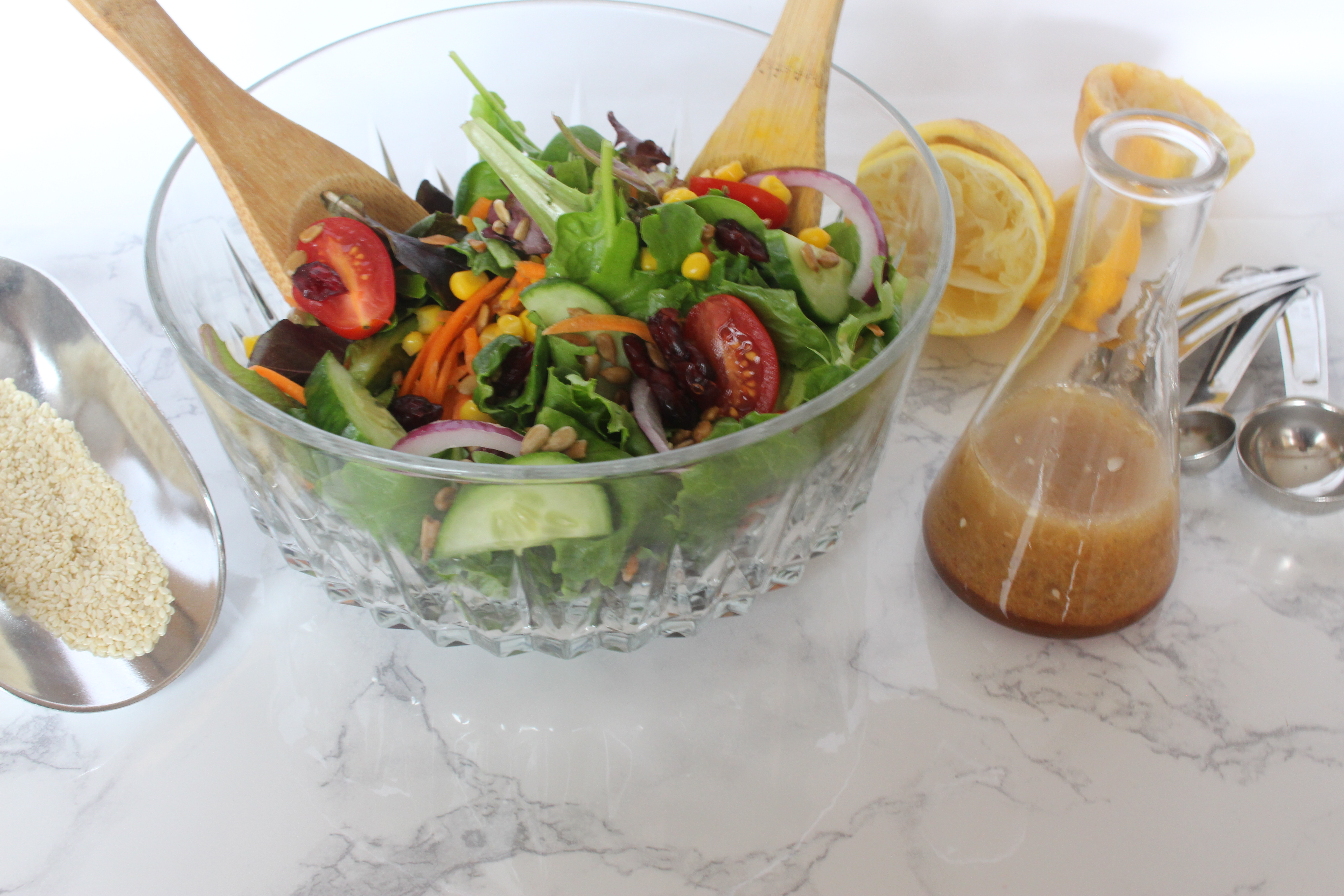 healthy asian ginger salad dressing recipe