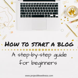 how to start a blog beginners guide