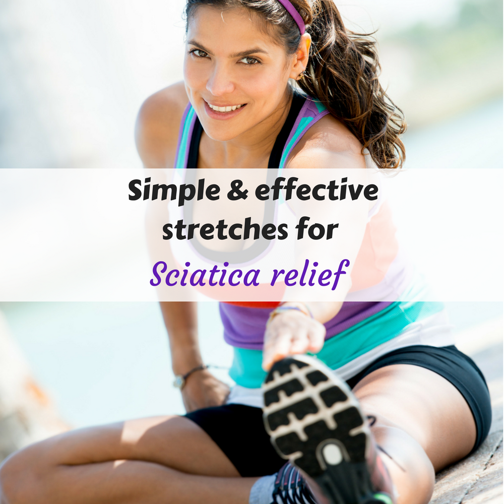 Simple and effective stretches for sciatica relief